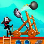 The Catapult Castle Clash with Awesome Pirates 1.2.5 MOD APK