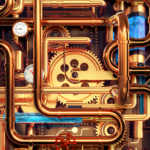 Cool Wallpapers and Keyboard – Steampunk Pipes MOD APK