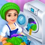 Laundry Service Dirty Clothes Washing Game MOD APK