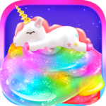 Unicorn Chef Slime DIY Cooking Games for Girls MOD APK